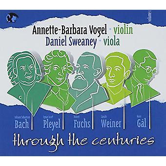 Fuchs-Weiner/Bach - gennem århundreder [CD] USA importen