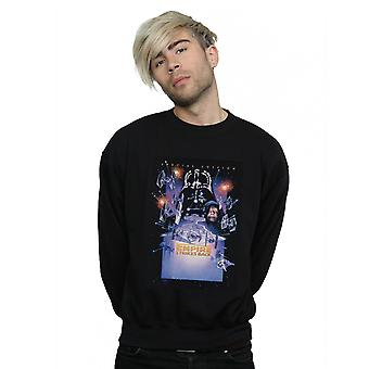 Star Wars Men's Episode VI Movie Poster Sweatshirt