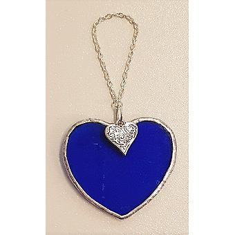 Simmerdim Design Small Dark Blue Heart Heart