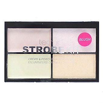 Technic Rainbow Strobe Kit Cream & Powder Highlighters Blush