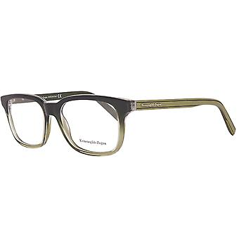 Zegna glasses mens olive
