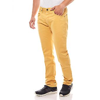 Lee Daren regular slim mens jeans yellow slacks