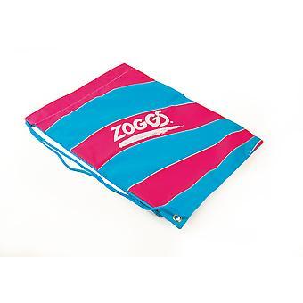 Zoggs jóvenes chicos y chicas práctico lazo bolso Ruck Sack rosa - 43.5x33.5 cm