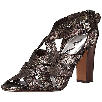 Nina Womens Susanna Leather Open Toe Formal Strappy Sandals