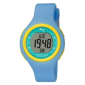 PUMA watch heart rate monitor pulse blue heart rate monitor PU910541013
