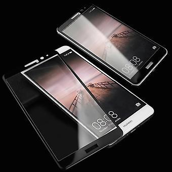 Fuld hærdet glas 0,26 mm tynd H9 shock sort for Sony Xperia XA1 beskyttelse dækning nye