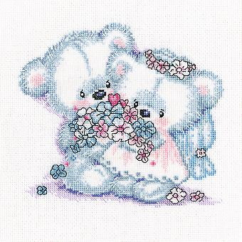 Together Counted Cross Stitch Kit-9