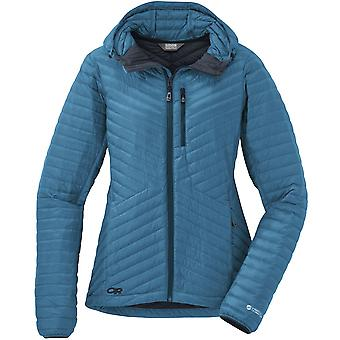 Outdoor Research Womens Verismo Jacket with Hooded Down for Sport
