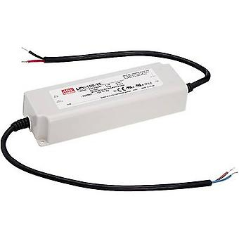 Mean Well LPV-150-24 LED transformer Constant voltage 151 W 0 - 6.3 A 24 Vdc not dimmable, Surge protection