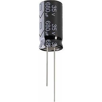 Jianghai ECR2AGC221MFF751625 Electrolytic capacitor Radial lead 7.5 mm 220 µF 100 V 20 % (Ø x H) 16 mm x 25 mm 1 pc(s)