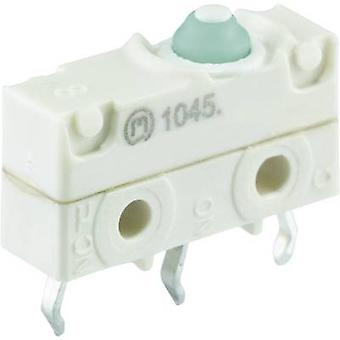 Marquardt Microswitch 1045.2702-00 250 V AC 10 A 1 x On/(On) IP67 momentary 1 pc(s)