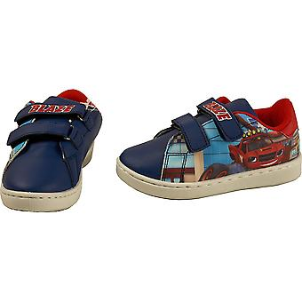 Boys HQ4710 Blaze and Monster Machines Trainers Shoes Size 8 Infant-12.5 Kids