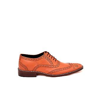 Handcrafted Premium Leather Verdelite Brogue Shoe