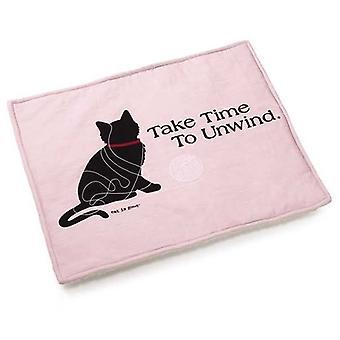 Katten er god katt Mat rosa