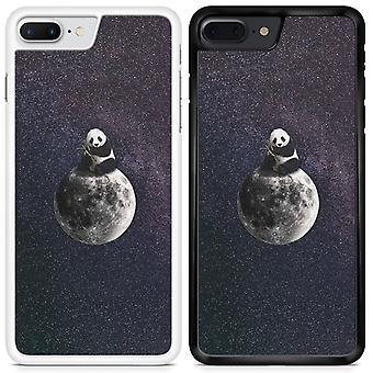Panda Custom Designed Printed Phone Case For Apple iPhone 6 Plus Panda01 / White