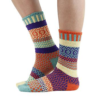 Dawn recycled cotton multicolour odd-socks | Crafted by Solmate