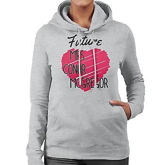 Zukunft Frau Conor McGregor Damen Sweatshirt mit Kapuze