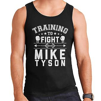 Training To Fight Mike Tyson Men's Vest