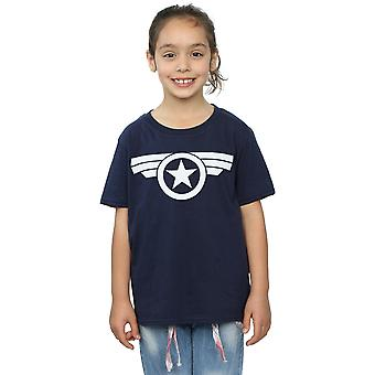 Marvel Girls Captain America Super Soldier T-Shirt