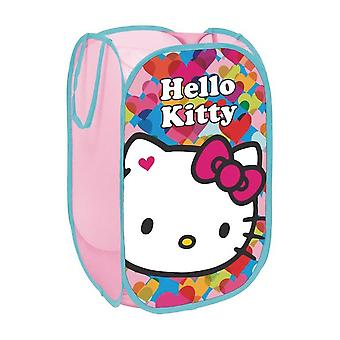 Hello Kitty Portagiochi in Tessuto Pop Up