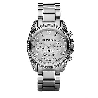 Michael Kors damenes Blair Chronograph Watch - MK5165 - sølv