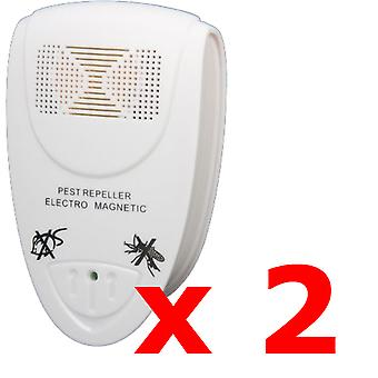 2 x Kabalo UK PLUG IN ULTRASONIC PEST REPELLERS
