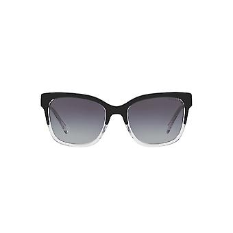 Ralph By Ralph Lauren Two Tone Square Sunglasses In Black On Crystal