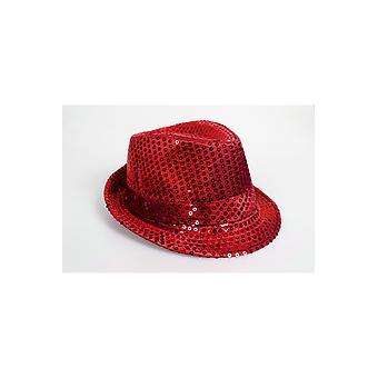 Hats  Glitter hat red