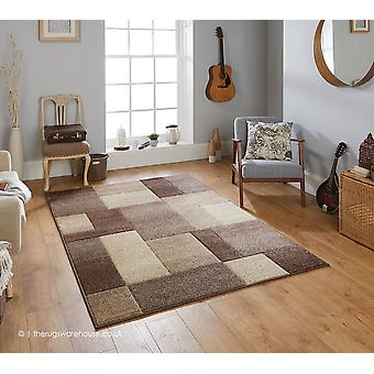 Blocs de Portland brun tapis