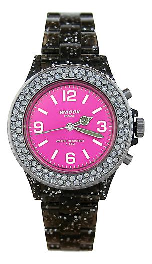 Waooh - Watch VENICE 34 Black Sequined
