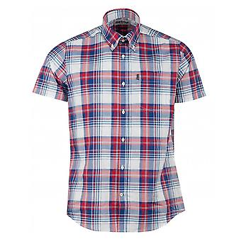 Barbour Madras 3 Check Tailored Fit Shirt