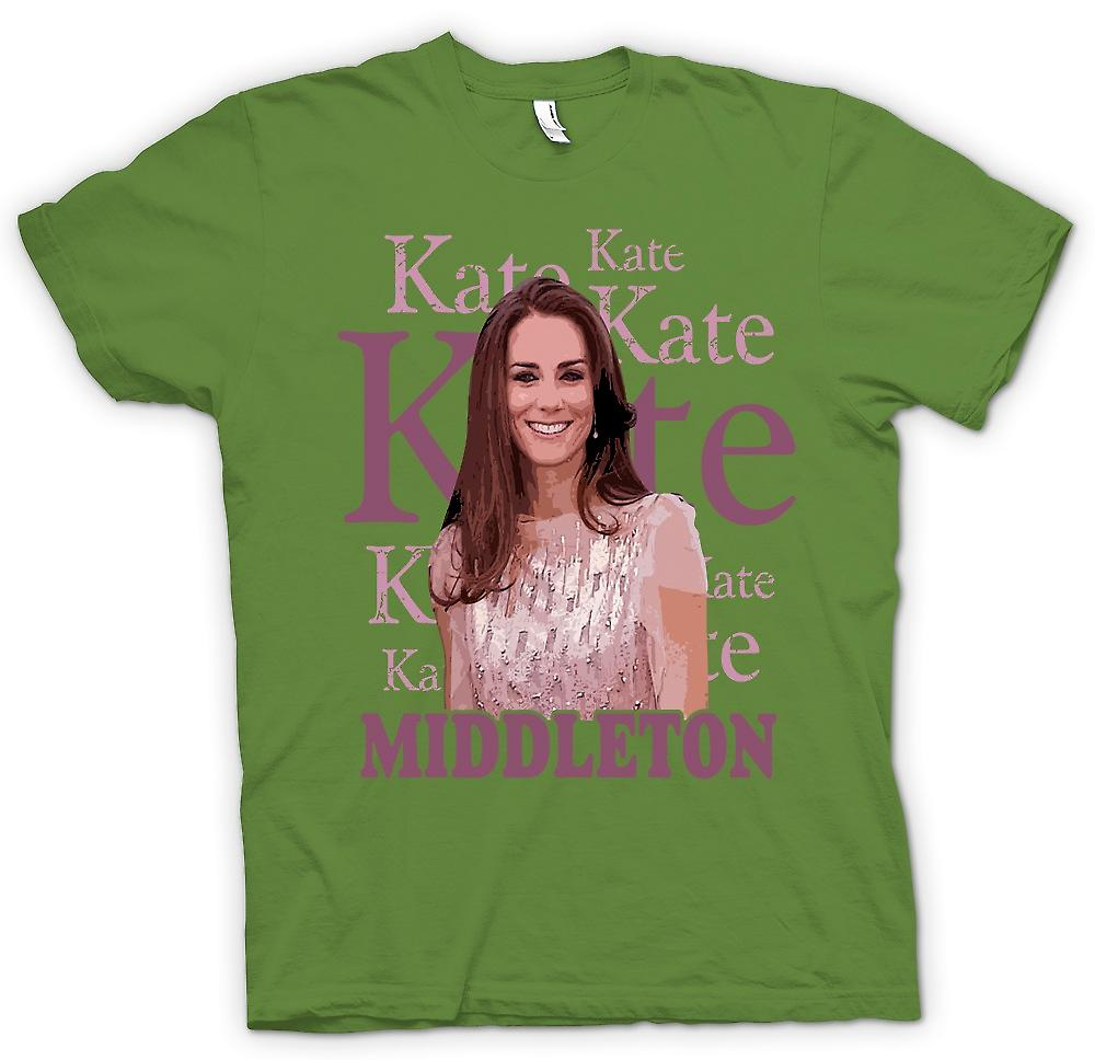 Mens T-shirt - Kate Middleton - Future Queen