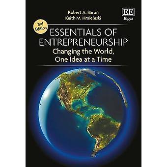 Essentie van ondernemerschap - veranderen van de wereld - een idee op een Ti