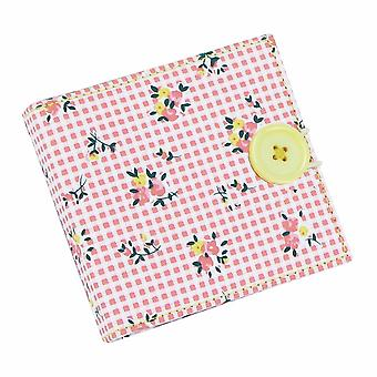 Floral Sewing Needle Wallet (Includes Scissors)