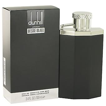 Desire Black London by Alfred Dunhill Eau De Toilette Spray 3.4 oz / 100 ml (Men)