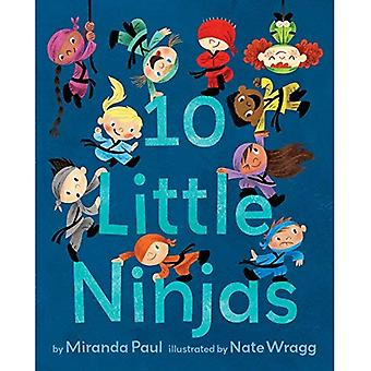 10 Lille Ninjas