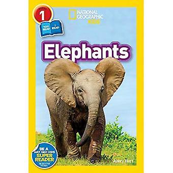 National Geographic Leser: Elefanten (National Geographic Kids: Stufe 1)