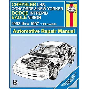 Série de Chrysler LH (Chrysler Concorde, New Yorker et LHS; Dodge Intrepid; Eagle Vision) (1993-97) manuel de réparation automobile (manuels de réparation automobile Haynes)