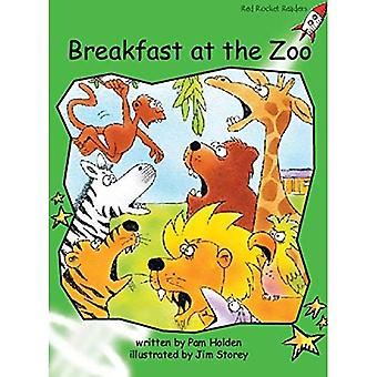 Breakfast at the Zoo: Level 4: Early (Red Rocket Readers: Fiction Set A)
