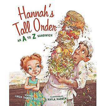 Hannah's Tall Order: een A tot Z Sandwich