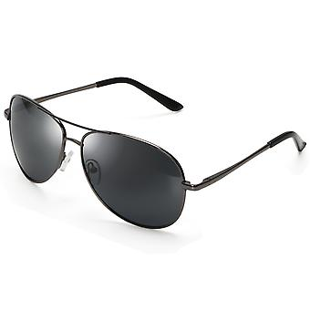 TRIXES Aviator brillen met gespiegelde Lens politie leuk thema Party Fancy Dress accessoire