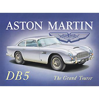 Aston Martin DB5 Steel Fridge Magnet