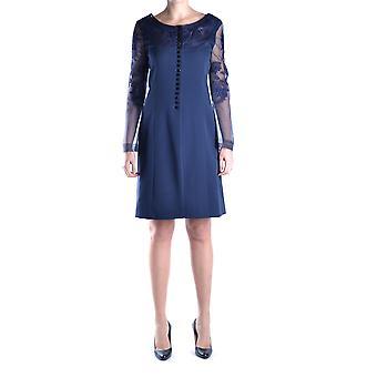 Gianfranco Ferré Blue Silk Dress