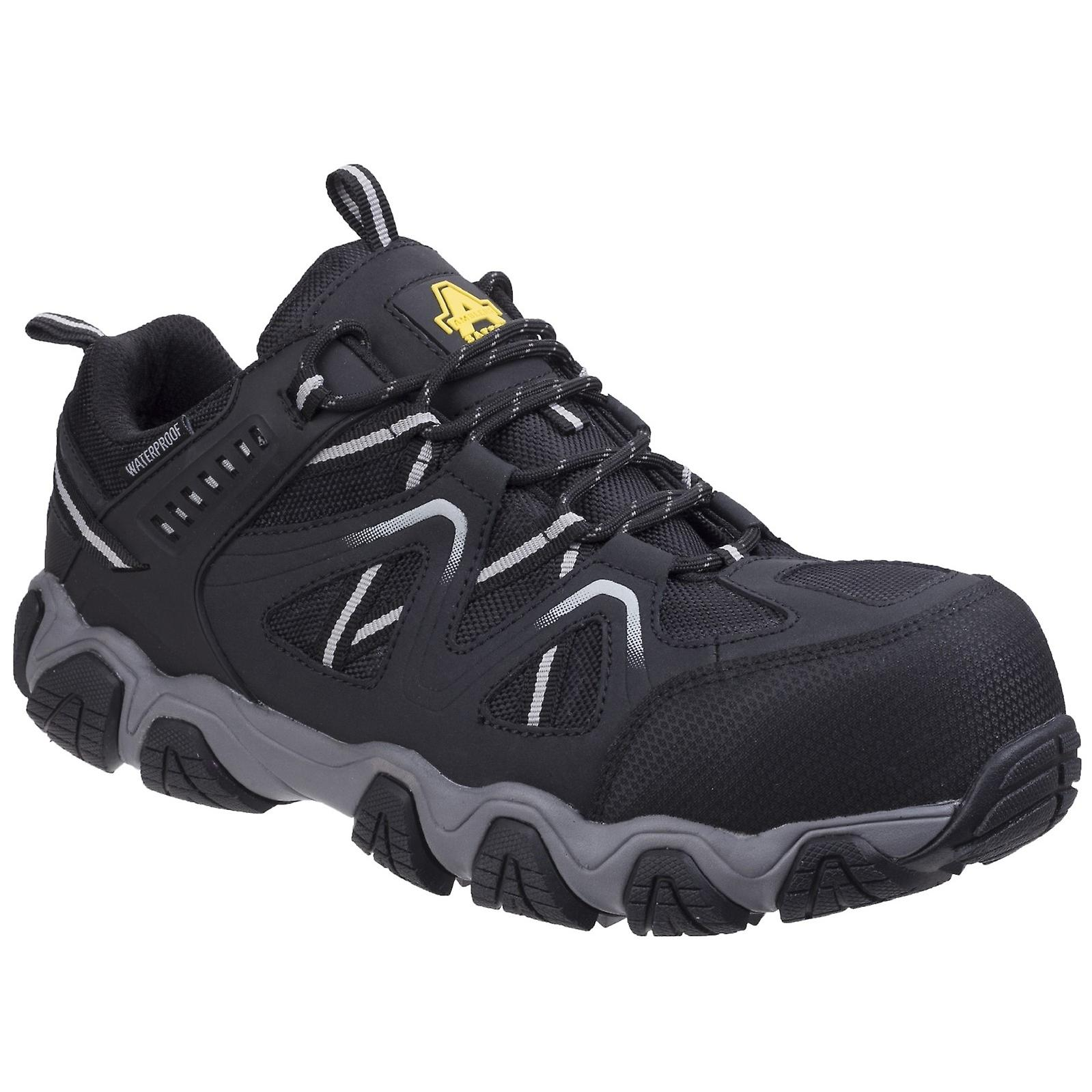 Amblers Unisex Oakham Lace Up Leather Safety chaussures