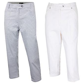 Île vert Womens 2019 Golf IGLPNT1867 Spotted Pant pantalon Carpi