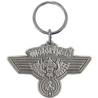 Motorhead Hammered Logo Collectable Metal Keyring