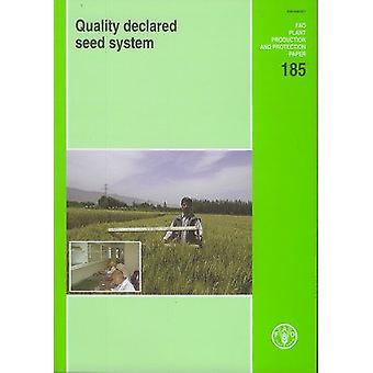 Quality Declared Seed System - Expert Consultation - Rome - 5-7 May 2