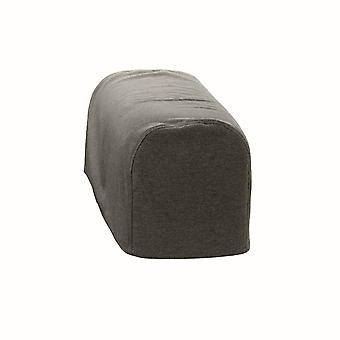 Changing Sofas® Large Size Graphite Wool Feel Pair of Arm Caps for Sofa Armchair