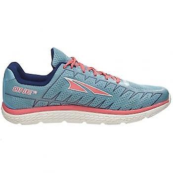 Altra One v3 femmes Zero Drop Road chaussures de Running bleu corail