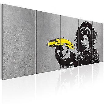 Canvas Print - Monkey and Banana